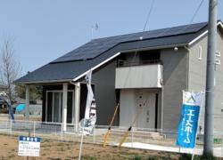 新築戸建住宅 茨城県稲敷郡阿見町 太陽光発電システム「ゼロエネルギーの家」